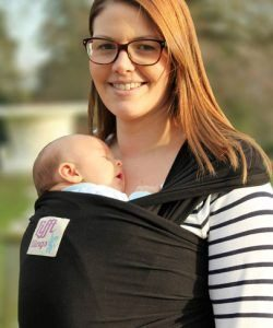 Lifft Black Stretchy Wrap Carrier Sling Black