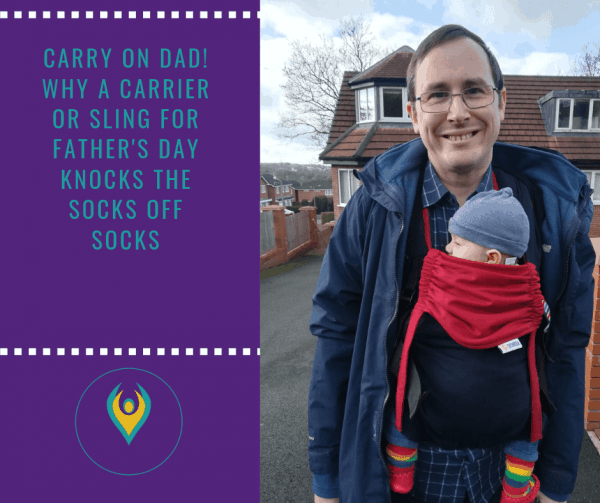 Carry on Dad! For a Father's Day gift that knocks socks off socks