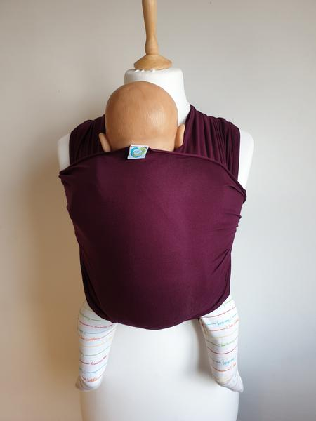 Plum Calin Bleu Stretchy wrap