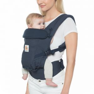 Ergobaby Adapt Baby Carrier from newborn Midnight Blue