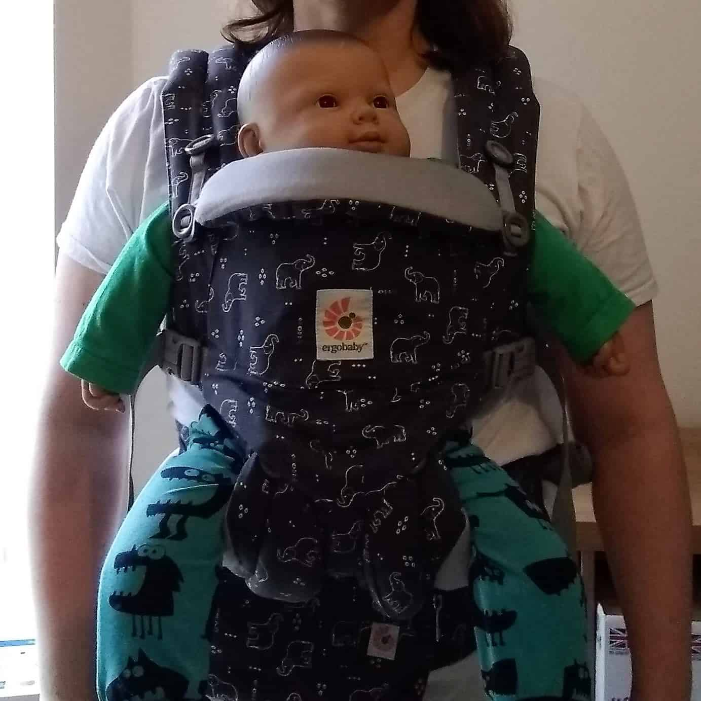 Ergobaby Omni 360 baby carrier from newborn forward facing