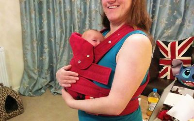 Top tips for carrying your baby after a Ceasarean Section
